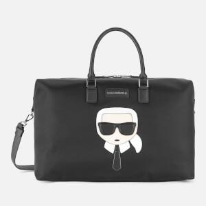 Karl Lagerfeld Women's K/Ikonik Nylon Weekender - Black