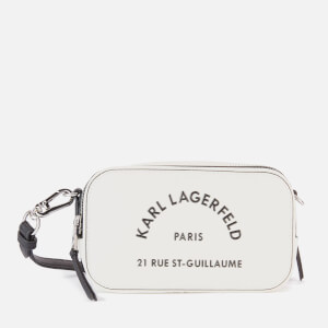 Karl Lagerfeld Women's Rue ST Guillaume Camera Bag - White