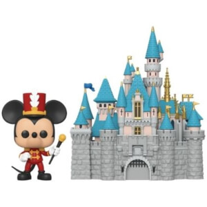 Disney 65th Castle with Mickey Pop! Town