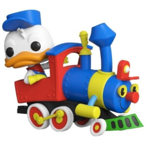 Casey Junior Donald Duck with Engine Pop! Train