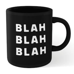 The Motivated Type Blah Blah Blah Mug - Black