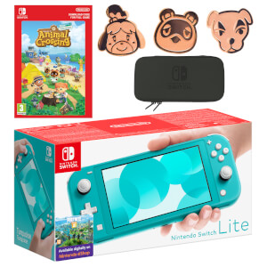 Nintendo Switch Lite (Turquoise) Animal Crossing: New Horizons - Digital Download Pack