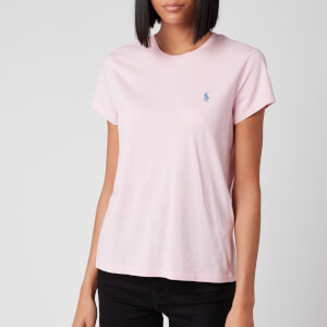 Polo Ralph Lauren Women's Short Sleeve T-Shirt - Garden Pink