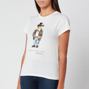 Polo Ralph Lauren Women's Cowboy Bear T-Shirt - Nevis
