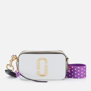 Marc Jacobs Women's Snapshot Camera Bag - Moon White/Multi