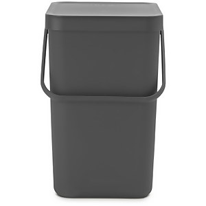 Brabantia Sort & Go 25 Litre Waste Bin - Grey