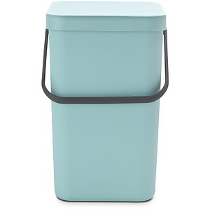 Brabantia Sort & Go 25 Litre Waste Bin - Mint
