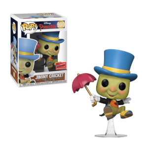 Figura Funko Pop! Exclusivo NYCC20 - Pepito Grillo - Disney: Pinocho