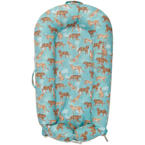 Sleepyhead Deluxe + Pod for 0-8 Months - Jungle Cat