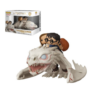 Harry Potter Drache mit Harry, Ron & Hermine Funko Pop! Ride