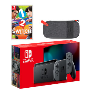 Nintendo Switch (Grey) 1-2-Switch Pack