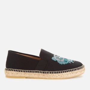 KENZO Men's Tiger Head Elastic Espadrilles - Black