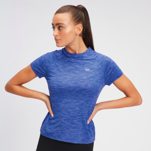 MP Performance-T-Shirt für Damen – Cobalt