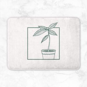 Plant Bath Mat