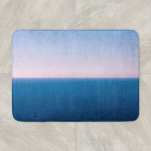 Sunset Cool Tones Bath Mat