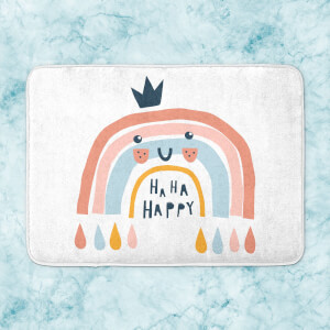 Ha Ha Happy Bath Mat
