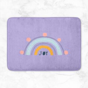 Joy Rainbow Bath Mat