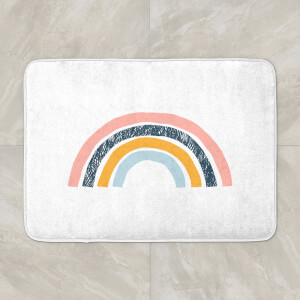 Textured Rainbow Bath Mat