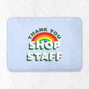 Thank You Shop Staff Bath Mat