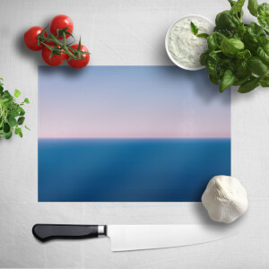 Sunset Cool Tones Chopping Board