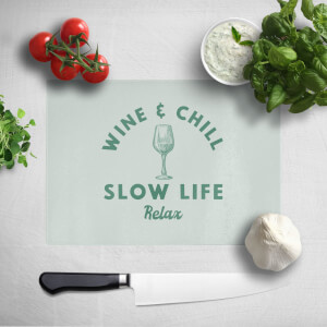 Wine And Chill Chopping Board