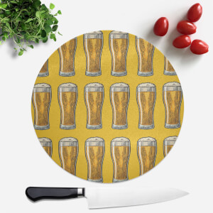 Beers Round Chopping Board