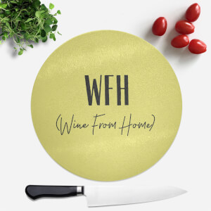 Wine From Home Round Chopping Board