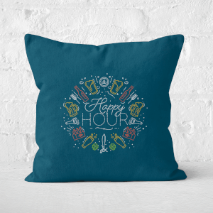 Happy Hour Square Cushion