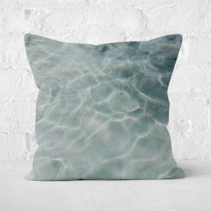 Sea Water Square Cushion