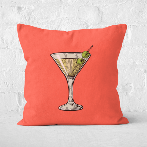 Martini Square Cushion