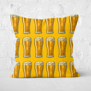 Beers Square Cushion