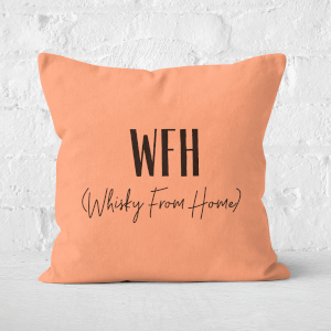 Whisky From Home Square Cushion