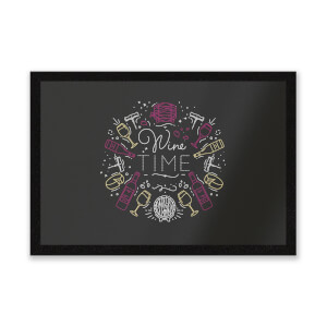 Wine Time Entrance Mat