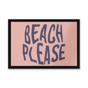 Beach Please Entrance Mat