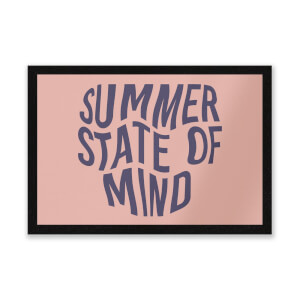 Summer State Of Mind Entrance Mat