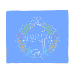 Party Time Fleece Blanket