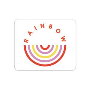 Upside Down Rainbow Mouse Mat
