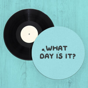 What Day Is It? Slip Mat