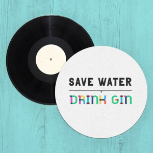 Save Water, Drink Gin Slip Mat