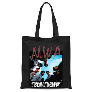 Tote Bag NWA Straight Outta Compton - Nero