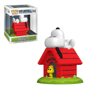 Peanuts Snoopy on Doghouse Funko Pop! Deluxe