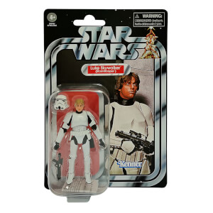 Hasbro Black Series Star Wars Vintage Collection Episode 4 Luke Skywalker Trooper Action Figure