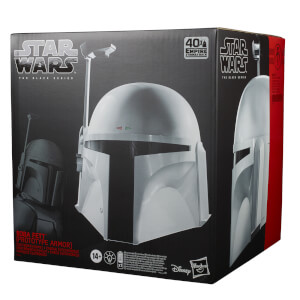 Star Wars The Black Series, Casque électronique Boba Fett (armure prototype)