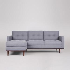 Swoon Berlin Smart Wool Corner Sofa - Left Hand Side