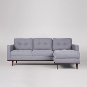 Swoon Berlin Smart Wool Corner Sofa - Right Hand Side