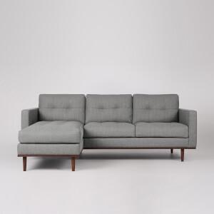Swoon Berlin House Weave Corner Sofa - Left Hand Side