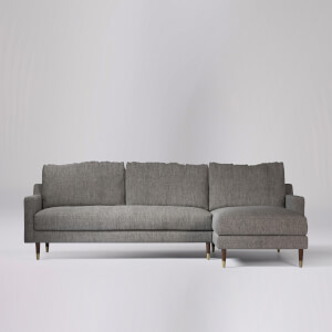 Swoon Reiti House Weave Corner Sofa - Right Hand Side