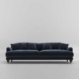 Swoon Holton Velvet 3 Seater Sofa