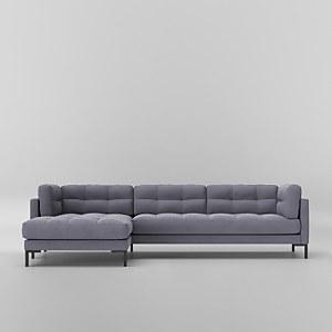 Swoon Landau Smart Wool Corner Sofa - Left Hand Side
