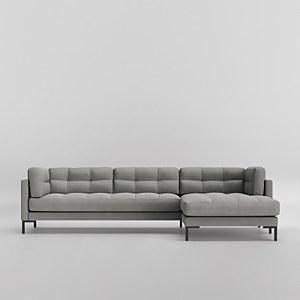 Swoon Landau House Weave Corner Sofa - Right Hand Side